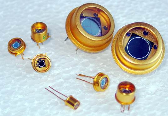 Silicon PIN photodiodes